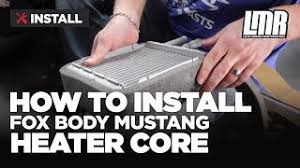 fox body tail lights mustang79 com video magazine which helps you with its restoration