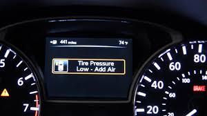 nissan altima warning lights nissan innovation makes tire inflation easy