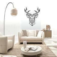 decorations wall art geometric decorating home ideas good