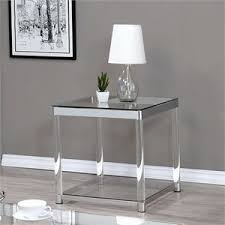 black and tan hamilton narrow wood top c table end tables cymax stores