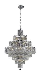 Maxim Chandeliers Elegant 2037d26c Rc Maxim Chandeliers 26in Chrome 14 Light Ebay