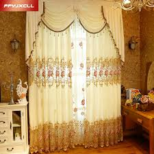Valances For Living Rooms Online Get Cheap Valances Window Treatments Aliexpress Com