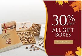 lindt chocolate canada thanksgiving sale save 30 all gift