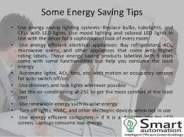 energy saving sign of better tomorrow