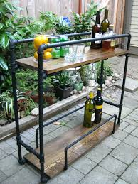 Steel Pipe Shelving by Life Designed Diy Pipe Bar Cart