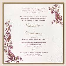 indian wedding card sles invitation ideas wedding ideas invitation ideas