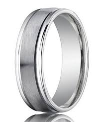 palladium wedding ring designer palladium men s wedding band spun satin finish 4mm