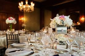 Cube Vase Centerpieces by New York Country Club Wedding Incorporating Chinese Customs