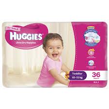 buy huggies toddler nappies 10 15kg 36pk at countdown