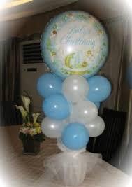 Centerpieces For Baptism Bebe U0027s Balloons Philippines Balloon Centerpieces