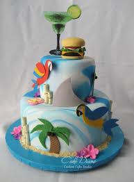 jimmy buffett themed margaritaville cake birthday cakes