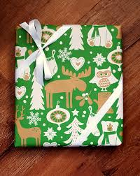 owl christmas wrapping paper children s woodland christmas wrapping paper with owls