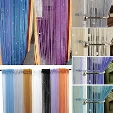 Window Blind String Dew Drop Beaded String Door Window Curtain Divider Room Blind