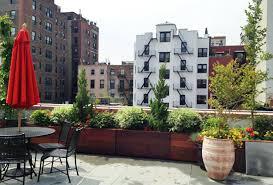 nyc backyard patio and rooftop terrace garden design