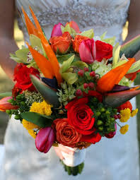 tropical wedding theme outstanding tropical wedding flower arrangements tropical wedding