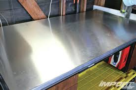 Woodworking Bench Top Material by Diy Aluminum Workbench Topper Import Tuner Magazine