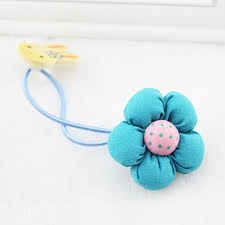 baby hair ties aliexpress buy rabbit flower headwear hair tie hair rope