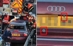 belgian police fire at british car after fatal 125mph chase with