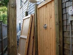 Simple Outdoor Showers - improvement u0026 how to diy outdoor shower plans interior