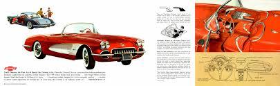 corvette dealers corvette articles 1959 corvette dealers sales brochure