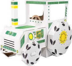 tractor cardboard house