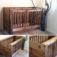 rustic wood baby cribs natural my dream crib pinterest 2 design 8