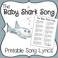 baby shark song free download the baby shark song by miss vanessa teachers pay teachers