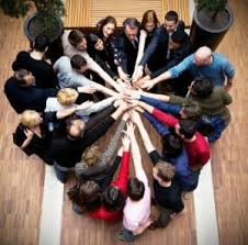 use these 5 easy team building activities for adults to increase