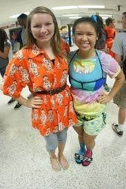 what are some ideas for on wacky wednesday wacky tacky day