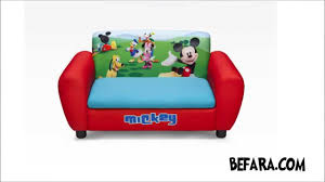 Mickey Mouse Sofa Bed by Camas Sofás Sillones Y Productos Mickey Mouse Youtube
