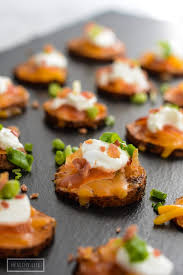 loaded sweet potato bites a healthy for me