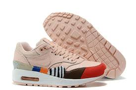 light pink nike air max women s nike air max 1 master running shoes leopard light pink
