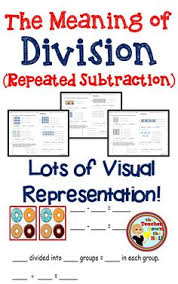 division strategies repeated subtraction of the same number