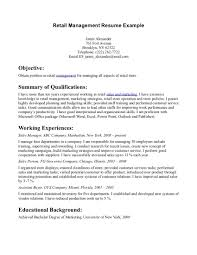 Sample Resume For Manager by Retail Store Manager Resume Example Http Www Resumecareer Info