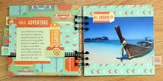 travel photo album travel mini album with the cinch we r memory keepers