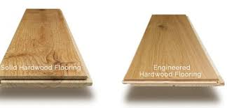 difference between hardwood and engineered hardwood floors