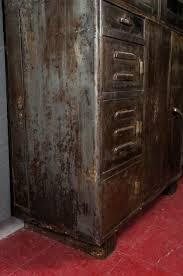 Vintage Metal Storage Cabinet Vintage Industrial Metal Storage Cabinet Omero Home