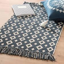 tappeto etnico tappeto etnico in cotone e bianco 60x90 tappeti foto