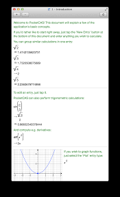 pocketcas algebra and graphing calculator for iphone ipad and