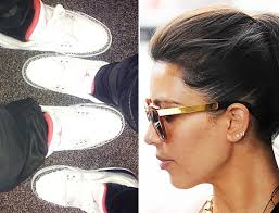kanye west earrings matches air jordans with kanye west wears kw