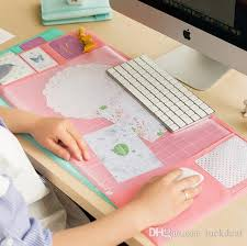 Computer Storage Desk Pvc Writing Pad Multifunction Computer Laptop Waterproof Mouse Pad