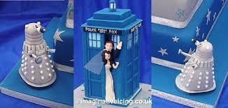 tardis cake topper dr who wedding cakes