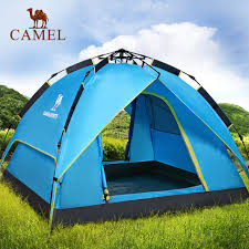 camel tents camel tents outdoor automatic rainproof three to four
