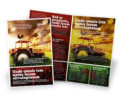 brochure templates adobe illustrator agriculture brochure templates in microsoft publisher adobe