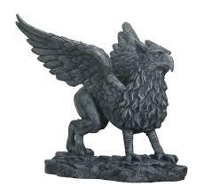 lion figurine griffin collectible figurine statue sculpture figure