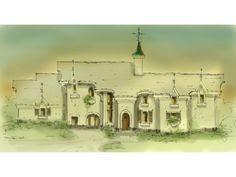 Tuscan Villa House Plans by 1905 Hodgson Moseley Blueprints Floor Plans Pinterest