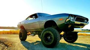 Dodge Challenger Off Road - grow a pair and buy this lifted 1972 dodge challenger the drive