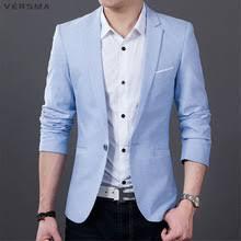 Light Blue Jacket Mens Online Get Cheap Blazer Light Blue Aliexpress Com Alibaba Group