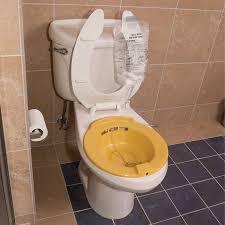 How To Use A Bidet Toilet Seat Amazon Com Dmi Portable Bidet Sitz Bath Smooth Contoured Plastic