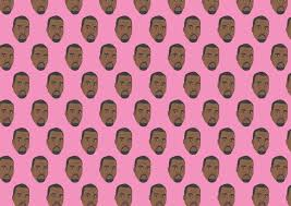 kanye gangsta wrapping paper gift wrap sheet from